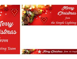 #32 untuk Christmas Day Themed Banner set for our website oleh Anetadud