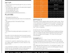 #11 for Cricket Dice Game - Design Instruction sheet & Game elements af teredutari