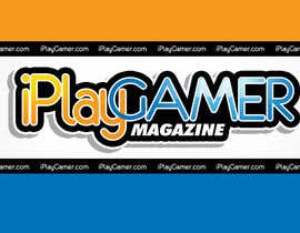 #93 para Logo Design for iPlay Gamer Magazine por rogeliobello