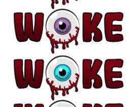 nº 83 pour Woke Eye Ball T- Shirt par mohamedchaieb
