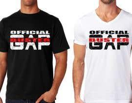 #164 pёr GAP BUSTER Logo T-shirt design nga marijakalina