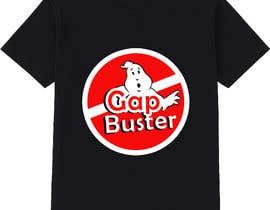 #117 pёr GAP BUSTER Logo T-shirt design nga KLTP