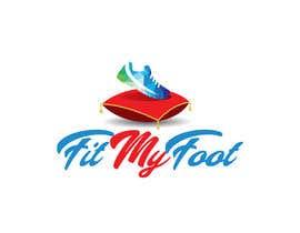 Nro 41 kilpailuun Logo design for online sneakers shop - Fit my foot käyttäjältä AhmadSaees2018