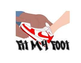 #35 cho Logo design for online sneakers shop - Fit my foot bởi b4animations