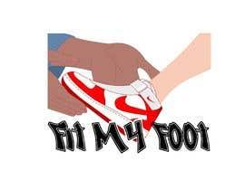 Nro 35 kilpailuun Logo design for online sneakers shop - Fit my foot käyttäjältä b4animations