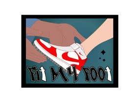 Nro 38 kilpailuun Logo design for online sneakers shop - Fit my foot käyttäjältä b4animations