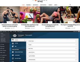 #12 for Design a wordpress website about training/fitness by lamyassine