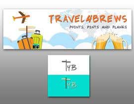 Nro 91 kilpailuun Design a header/banner and site icon for my travel blog käyttäjältä PixelPalace