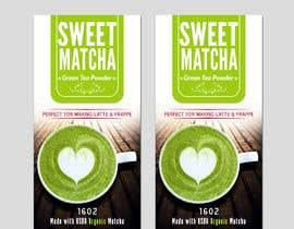 #64 untuk Sweet Matcha Label oleh dreamworld092016