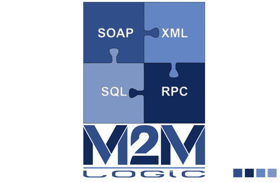 Penyertaan Peraduan #596 untuk Logo Design for M2M Logic Pty Ltd
