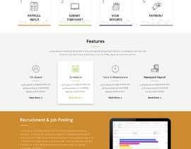 #30 for Design a website landing page mockup by xprtdesigner