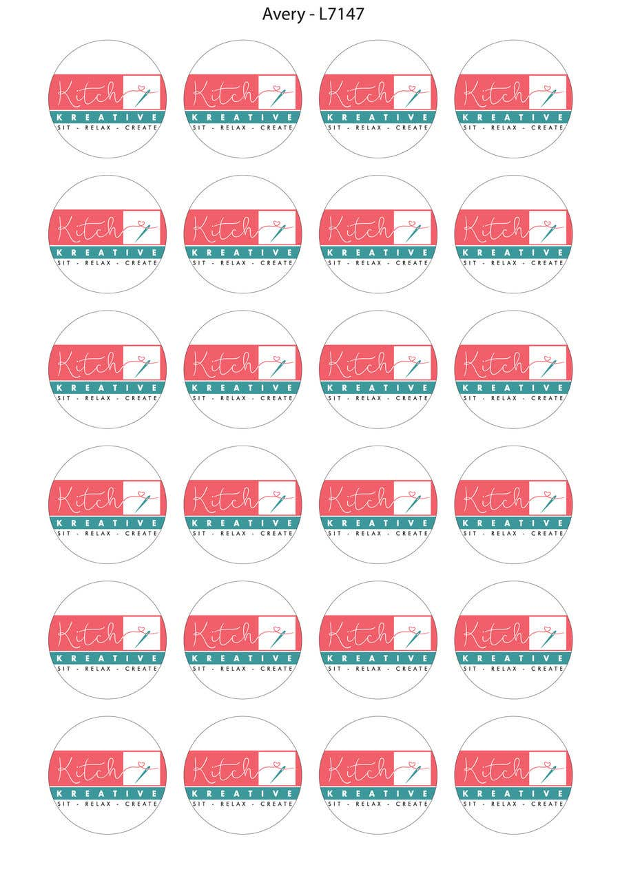 how to create a label template