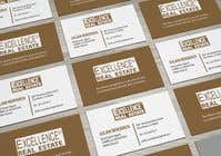 Graphic Design Συμμετοχή Διαγωνισμού #326 για Design some Business Cards Real Estate