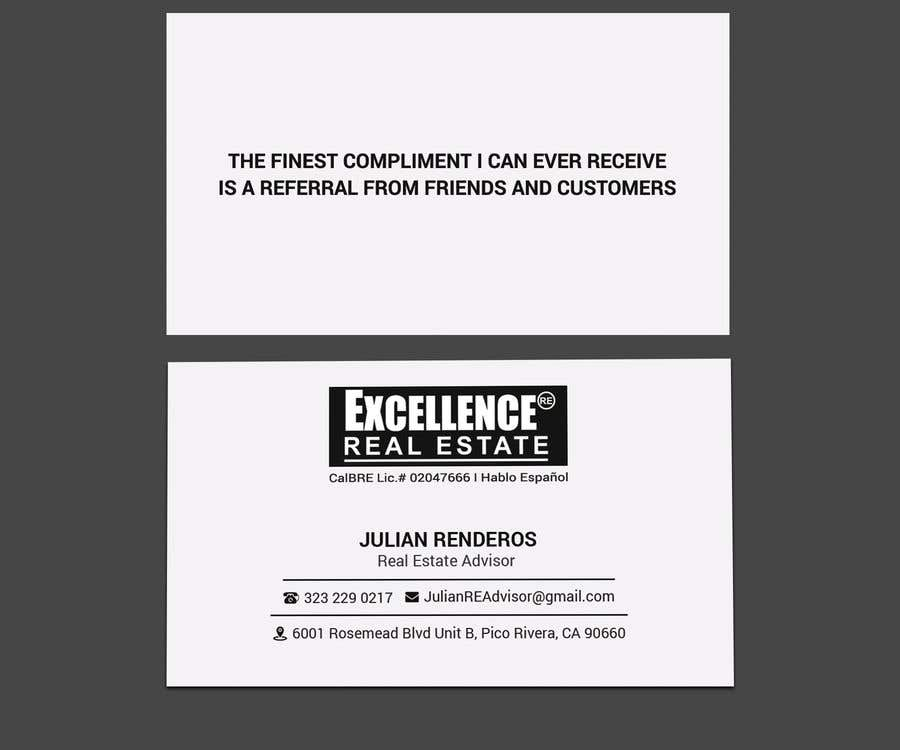 Συμμετοχή Διαγωνισμού #364 για Design some Business Cards Real Estate