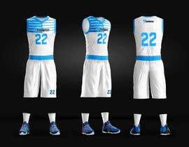 Nro 114 kilpailuun Design Basketball Jersey käyttäjältä Steev07
