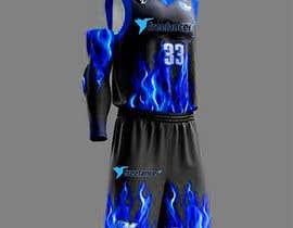 Nro 65 kilpailuun Design Basketball Jersey käyttäjältä jesusramo12