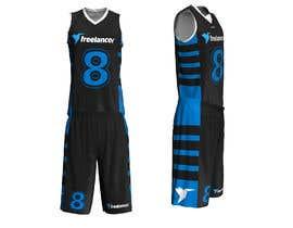 #70 untuk Design Basketball Jersey oleh libertBencomo