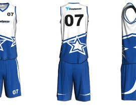 #41 untuk Design Basketball Jersey oleh reyanzaman
