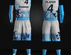 #43 untuk Design Basketball Jersey oleh ericzgalang