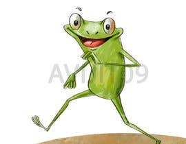 #29 untuk Create cartoon frog character for children's book oleh avijitsil009