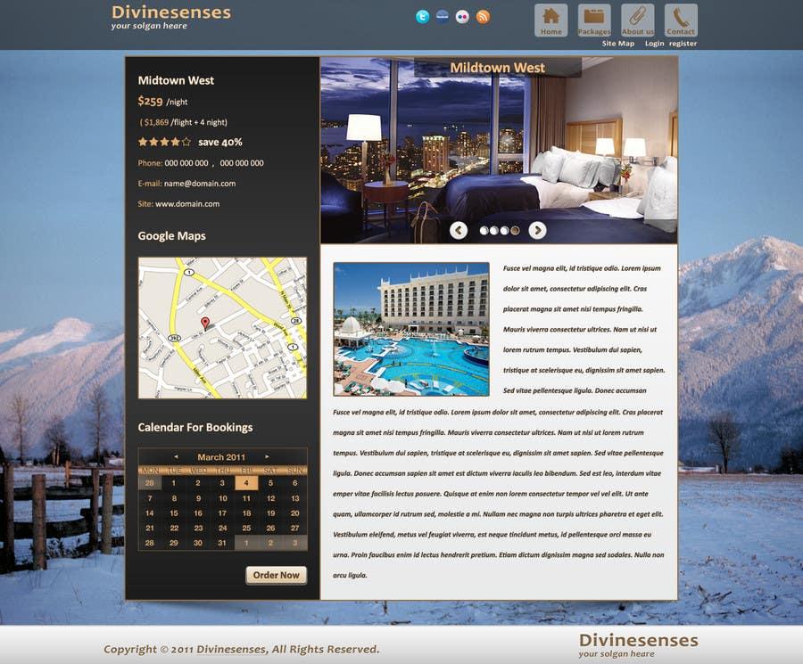 #119 for Website Design for Travel Packages by cnlbuy