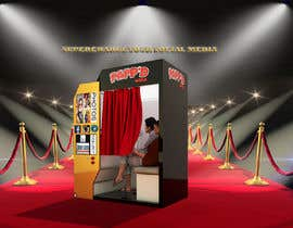#25 for Design a 3d render of photobooth by Tefaammar