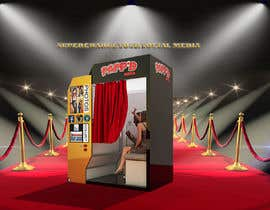 #26 for Design a 3d render of photobooth by Tefaammar