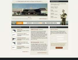 #11 untuk Design a Website Mockup for Shooting Range oleh kienitzpal