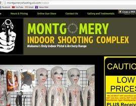 #14 untuk Design a Website Mockup for Shooting Range oleh axeldelumen