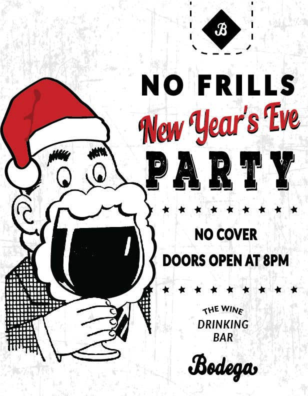 Entry #61 by svetlanadesign for Design a New Year\'s Eve Party Flyer ...