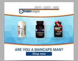 #15 untuk Design Banners for ManCaps.com oleh Manik012