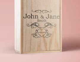#17 for Wedding photo box - engraving design af nata94le