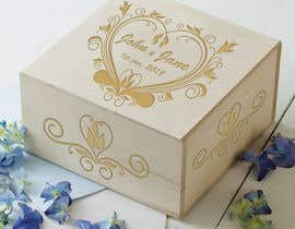 #6 for Wedding photo box - engraving design af kanishkkk