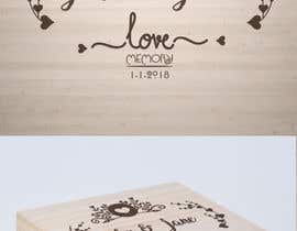 #21 for Wedding photo box - engraving design af AmritaBhardwaj
