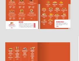 Nro 38 kilpailuun Redesign the layout of my Menu käyttäjältä sub2016