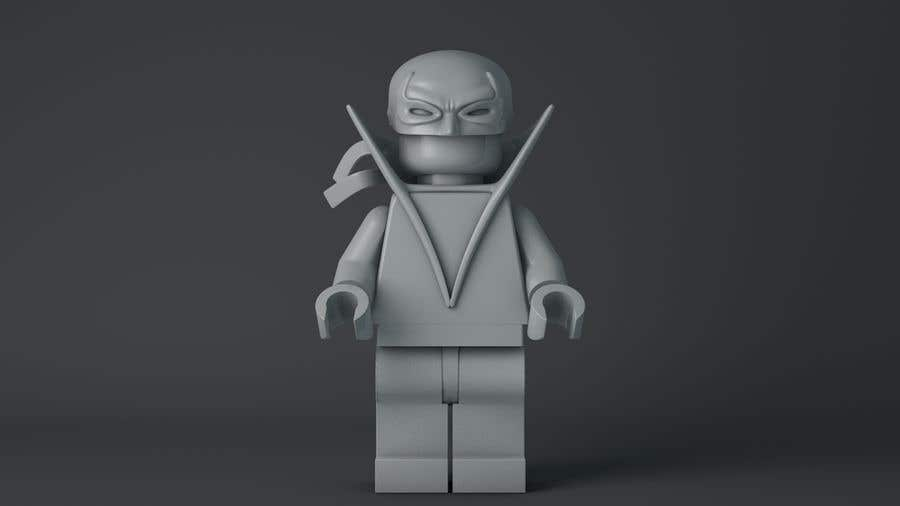 Proposta in Concorso #6 per Making a small 3D STL accessories 1:1 size for Lego minifigure