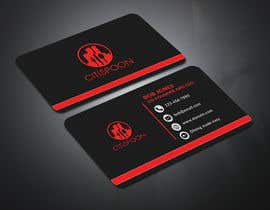 #44 for Design modern business Card, double-sided AND Stationery design by ripunath