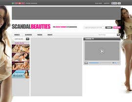 nº 21 pour Website Design for Scandalbeauties par VictorNdoromo