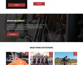 maaz24 tarafından Design a Cycling Club Website Mockup için no 24