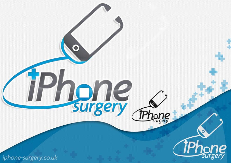 Contest Entry #234 for Logo Design for iphone-surgery.co.uk
