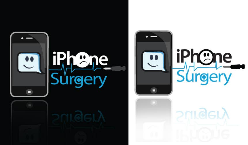 Bài tham dự cuộc thi #155 cho Logo Design for iphone-surgery.co.uk