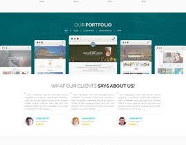 Nro 8 kilpailuun Design a Website Mockup for Web developer company käyttäjältä yasirmehmood490