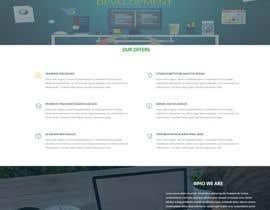 Nro 17 kilpailuun Design a Website Mockup for Web developer company käyttäjältä lucymacro