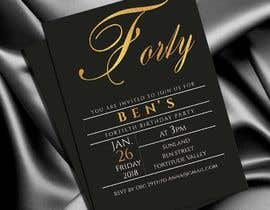 #75 for Design 40th Birthday Invitation by adesign060208
