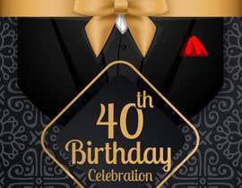 #83 for Design 40th Birthday Invitation by dspshehan
