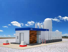#19 para 3D design of a LCNG station for Energy Company por virtualjunction4