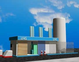 #8 , 3D design of a LCNG station for Energy Company 来自 tahsinnihan