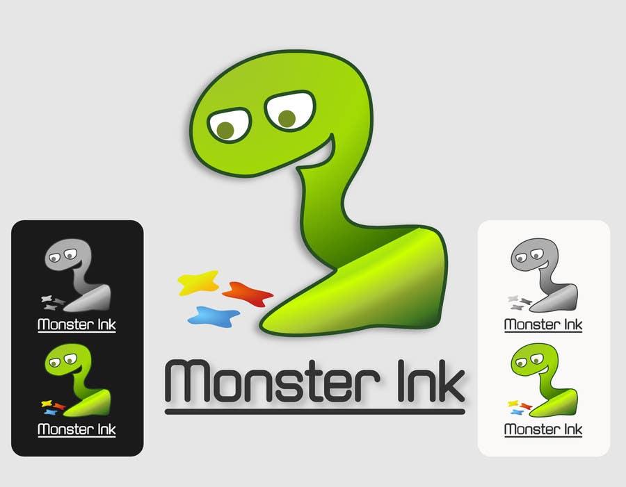 Inscrição nº                                         43                                      do Concurso para                                         Logo Design for Monster Ink