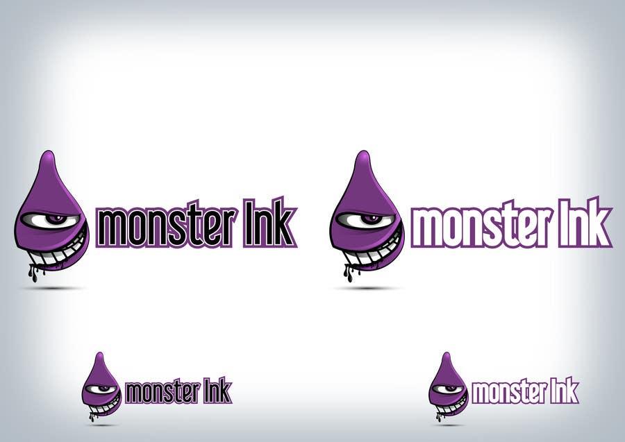 Inscrição nº                                         151                                      do Concurso para                                         Logo Design for Monster Ink