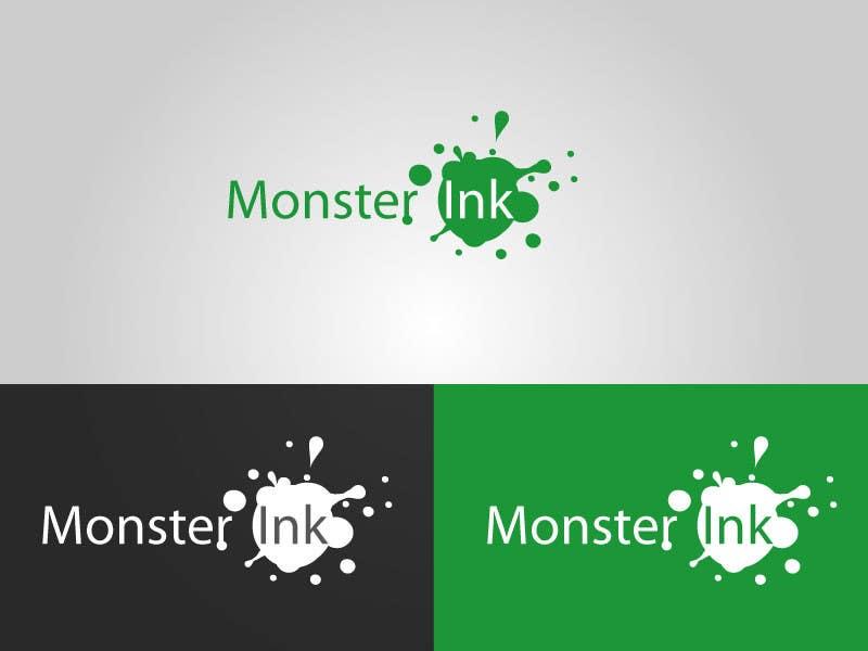 Inscrição nº                                         177                                      do Concurso para                                         Logo Design for Monster Ink